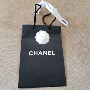 Chanel Gift Bag with Ribbon